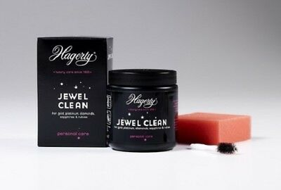 Hagerty Jewel Clean Jewelry Cleaner Dip Gold Platinum Diamonds Sapphires Ruby