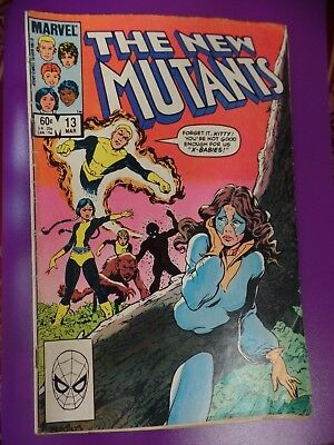 The New Mutants #13 March 1984 Bagged Marvel Comic