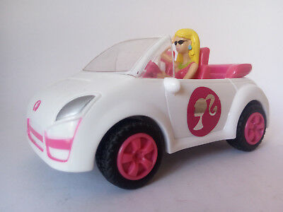 Original Barbie's Convertible Car in White Color (Mattel, 2009) Used