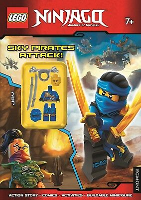 LEGO Ninjago Sky Pirates Attack! (Activity Book with Minifigure) by Egmont...