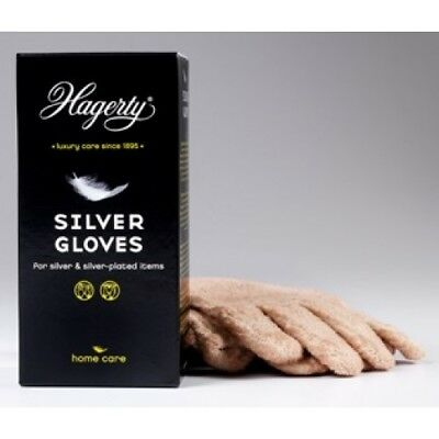 Hagerty Silver Gloves Jewellers Polishing Cleaning Silversmith Jewellery