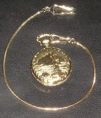 1886-1986 Limited Edition Commemorative Statue of Liberty/Eagle Pocket Watch