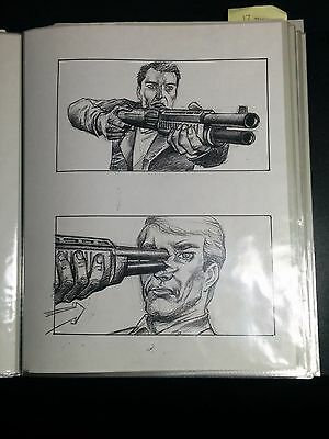 Terminator 2: Judgment Day 1991 112 Original Storyboard Pages TIM BURGARD #TBKK