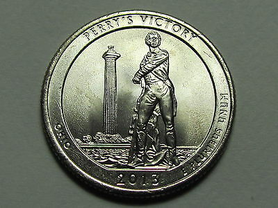 2013 PDS - Perry's Victory National Park Quarter Dollar Set