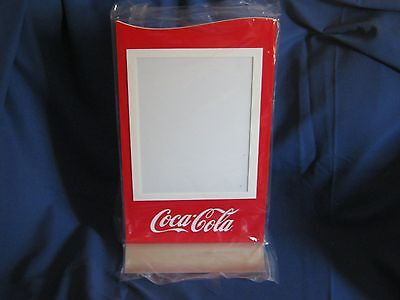 Coca-Cola Counterstand 2 Sided Magnetic Lens Frame Presell Menu Board Man Cave