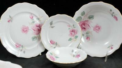 Forest MOONGLOW Salad + Bread & Butter Plate, Fruit + Soup Bowl GREAT CONDITION
