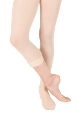 NEW Theatricals #T5500 Microfiber Convertible Ballet Dance Tights, PINK & LT SUN