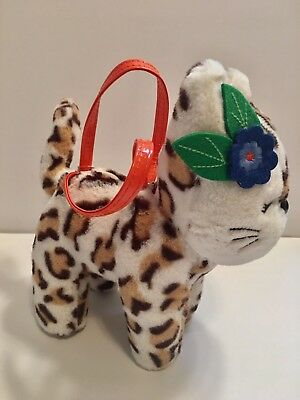 NWT Gymboree Outlet Right Meow  Cheetah Purse