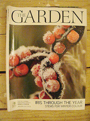 RHS - The Garden, January 2010 - Winter Stems - Irises - Blueberries - Walnuts