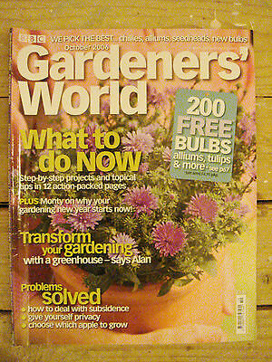 BBC - Gardeners' World, October 2006 – Subsidence / Privacy / Apples / Chillies