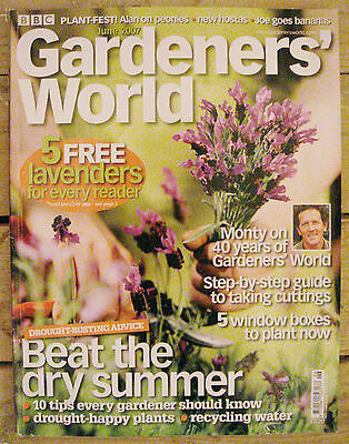 BBC - Gardeners' World, June 2007 – Drought-Happy Plants - Recycling Water
