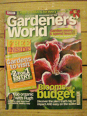 BBC - Gardeners' World, May 2009 – Pelargoniums / Bumblebees / Easy Border Plans