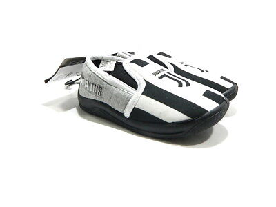 JUVENTUS OFFICIAL 18020 Pantofole Bambino Slippers Slip On Grigio