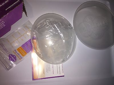 Milkies Milk-Saver Breast Milk Collector Storage Breastfeeding