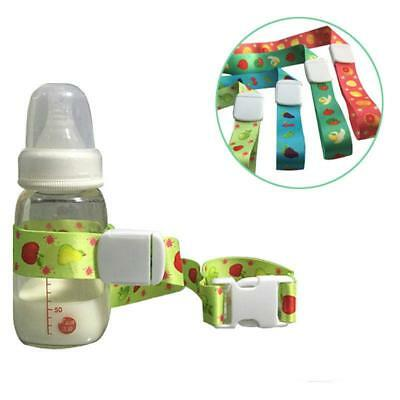 Infant Baby Sippy Cup Bottle Strap Leash Holder For Stroller Chair Car Seat Q
