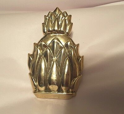 Door Knocker Doorknocker Solid Brass Pineapple  NO HARDWARE