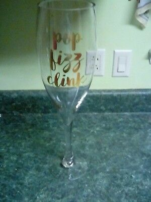 "Huge Champagne Glass 24"" tall!"