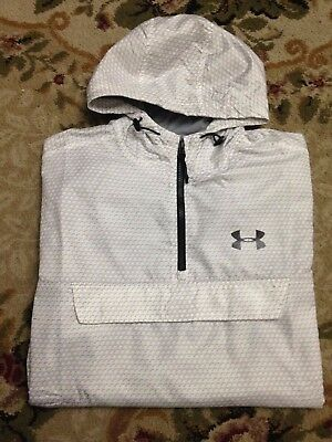 Under Armour Mens Sportstyle Anorak Water Repel Pullover Rain Jacket 1283322 M
