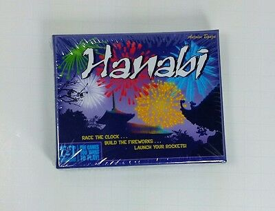 Hanabi Card Game by R & R Games, BRAND NEW, FACTORY SEALED, FREE SHIPPING!