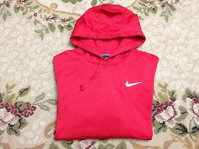 Men's Nike Therma Fit Pullover Hoodie Fleece Red Aa8146-687 Nwt Size Xxl