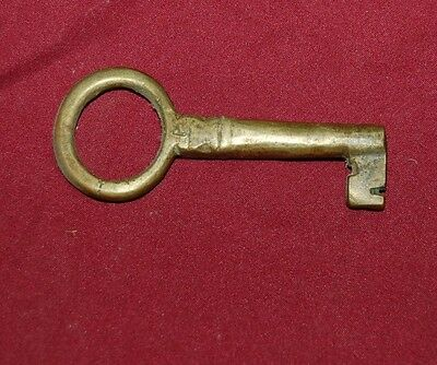 Victorian Large Antique Brass KEY~~4 inch long