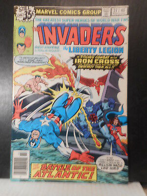 Invaders # 37  (1979)  VG-Fn  92TB.