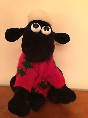 wallace and Gromit Collectible Shaun Doll. Rare