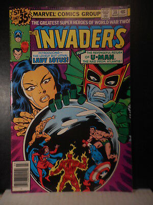 Invaders # 38  (1979)  VG+  92TB.