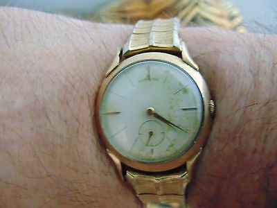 Vintage 1940's? 10K GF Hamilton Watch & WatchBand Runs Good