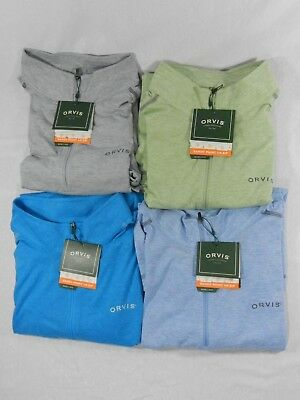 Orvis Sandy Point 1/4 Zip Pullover - NEW - Free Shipping in the US