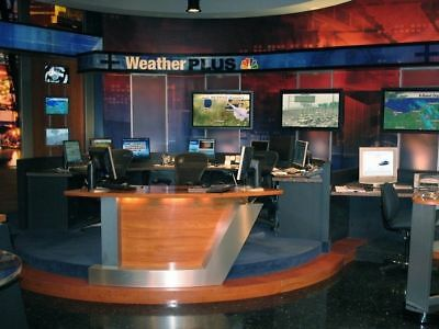 Virtual Sets Backgrounds Special effects Newsrooms for Green Screen + Chroma key