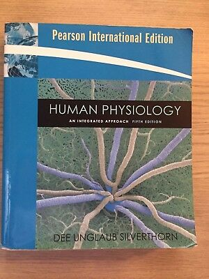 Pearson Human Physiology An Intergrated Approach Silverthorn Fifth edition