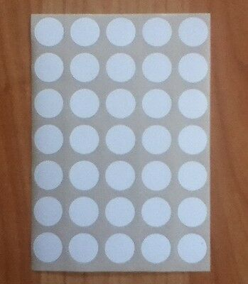 315 Large White Sticky Dots 13mm,Circles,Round,Price Stickers, Labels,Spots,Tags