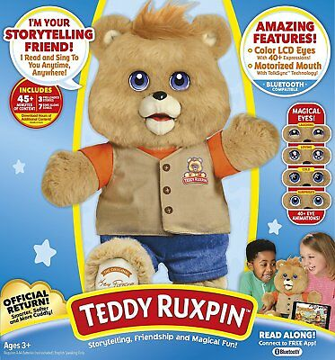 2017 Teddy Ruxpin Official Return of the Storytime and Magical Bear NEW