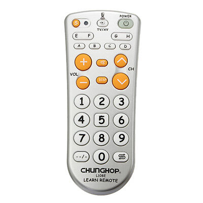 New CHUNGHOP L108E Mini Universal Learning Remote Control for TV DVD SAT