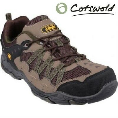 Cotsworld Leather Walking Hiking Waterproof Outdoor Mens Shoes Trainers Boots SZ
