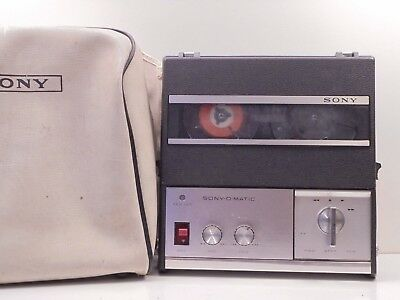 Sony TC-900 S Reel  2 Reel Tape Recorder *NOT TESTED* Sold As It It - VG+
