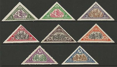 Lithuania Litauen 1932 MH Mi 340-347 Sc C55-62 IInd Child airmail iss perforate