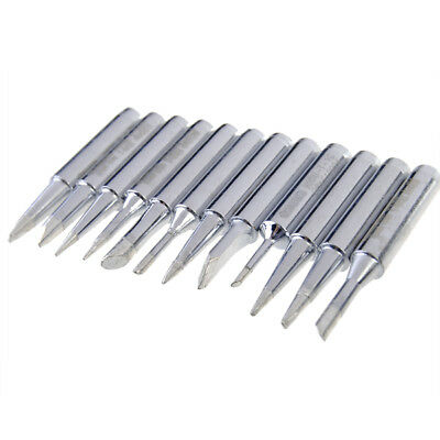 New DANIU 12pcs 900M-T Series Solder Iron Tips for Electronic Soldering Iron