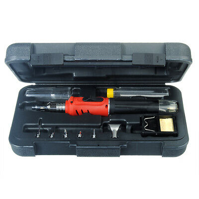 New HS-1115K 10 in 1 Soldering Iron Cordless Welding Torch Tool Kit
