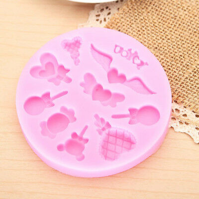New Silicone Chocolate Cake Decorating Mold Candy Lollipop Mold