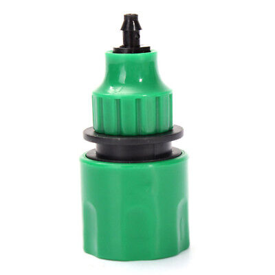 New Garden Water Hose Quick Connector Fitting For 4/7mm Micro Hose