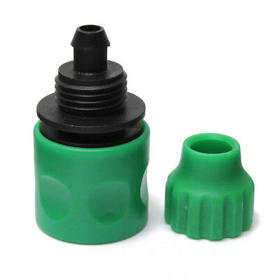New 3/8 Inch Garden Water Hose Fast Joint Plastic Spray Nozzle Connector Fitting