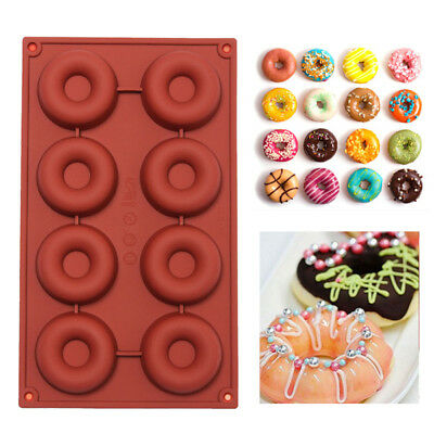 New DIY Silicone Donuts Mold Cake Chocolate Cookies Mould Baking Decorating Tool