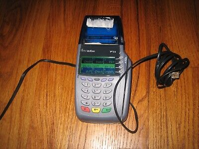 Verifone Omni 5150 VX510 Point of Sale Credit Card Terminal No Pwr Cord SoldAsIs
