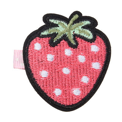 New Cute Embroidery Fruit Lovely Girls Hairpin
