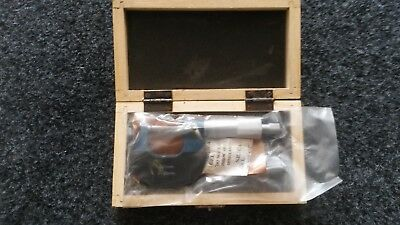 0-25MM TUBE Micrometer (New in wooden box)