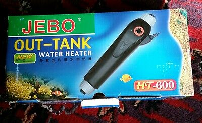 Adjustable heater external aquarium fish Tank 300w jebo ht 600 marine cichlid
