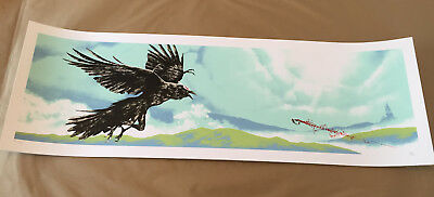 "Mark Englert ""they Are The Darkness..."" Rwby Rooster Teeth Poster Print Ap #/50"