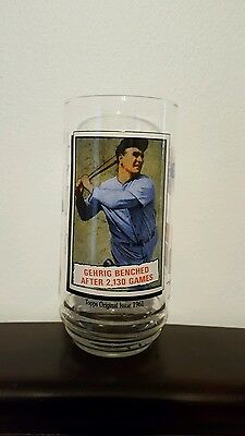 1993 Lou Gehrig McDonald's Collector Glass